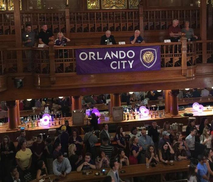 SERVPRO of Winter Park attended the CFHLA Orlando City Soccer Kick-Off Party