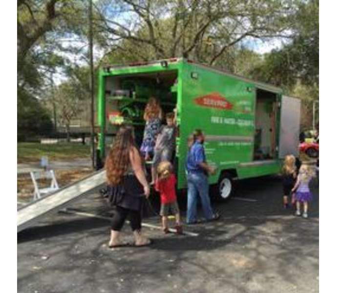 'Touch a Truck' event in Maitland, FL.