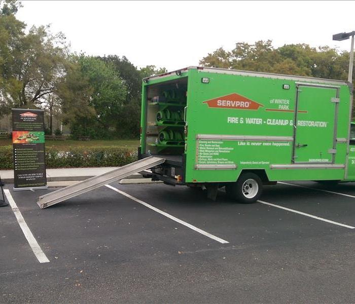 SERVPRO of Winter Park Touch-A-Truck