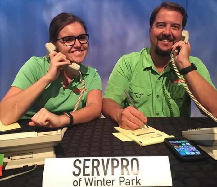 SERVPRO appears on News 6 Storm Prep 2016