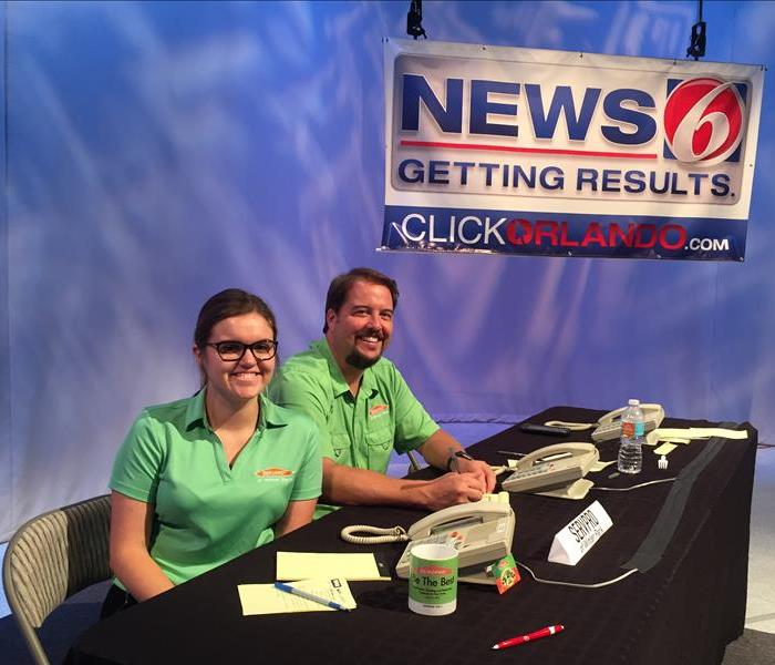 Community SERVPRO appears on News 6 Storm Prep 2016